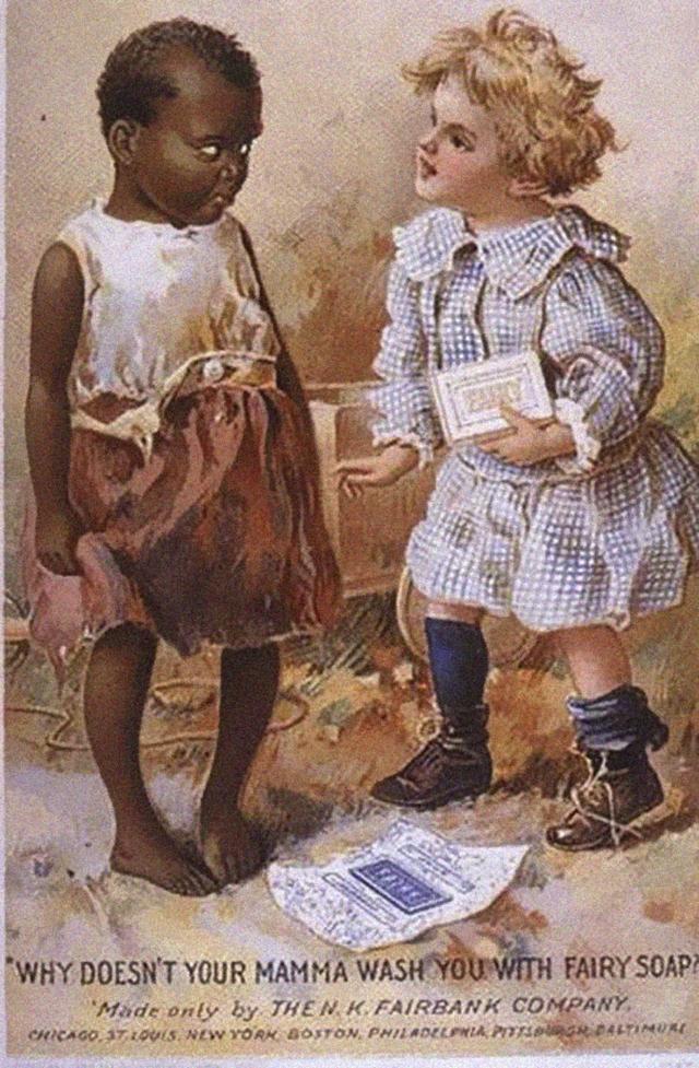 21. Rasistická reklama na mýdlo: Proč tě tvoje máma neumyje bílým mýdlem?