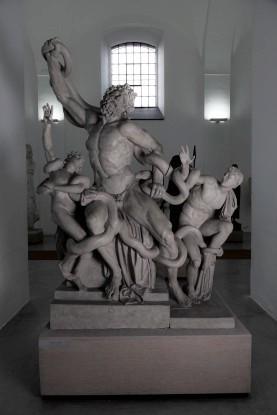 Galerie antického umění ve františkánském klášteře v Hostinné.