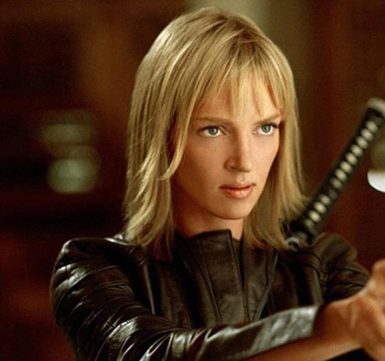Uma Thurman ve filmu Kill Bill.