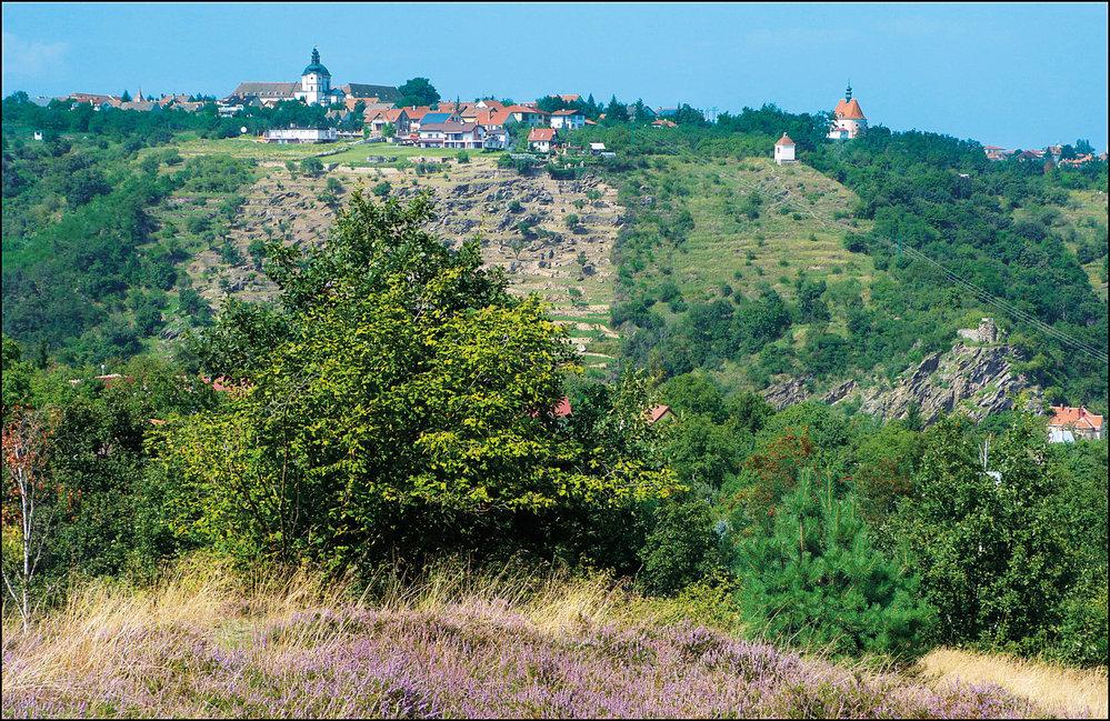 Hradiště s klášterem a kaplemi nad Granickou roklí