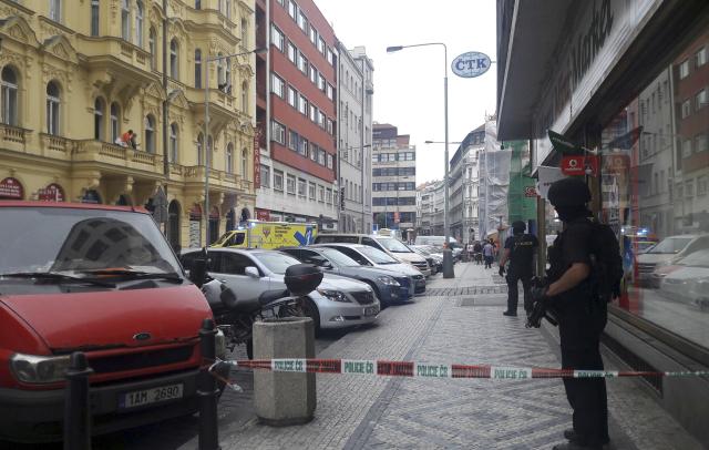 Přapadení v Praze