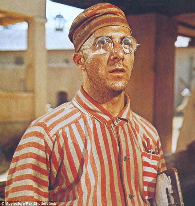 Coby trestanec Louis Dega v Motýlkovi (1973).