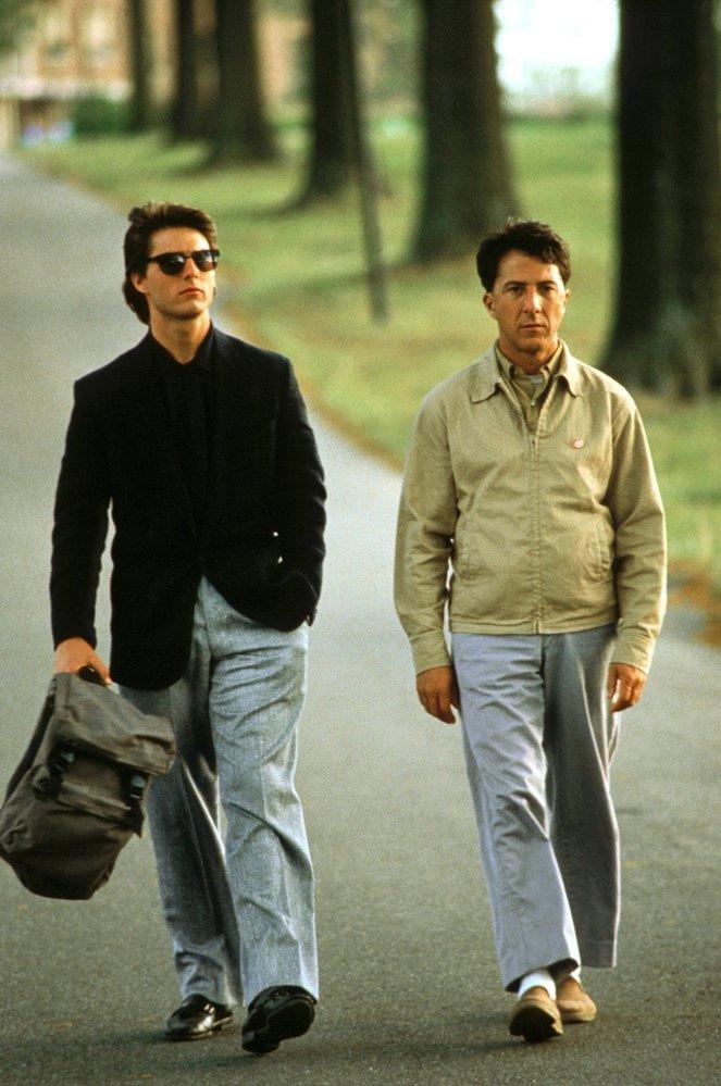 Kdo by neznal film Rain Man. Dustin v něm ztvárnil autistického, na počty geniálně nadaného Raymonda Babbita.