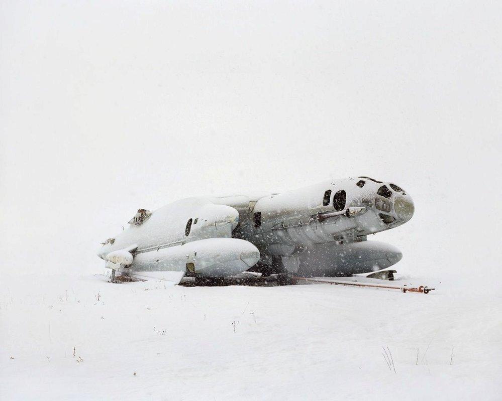 """Bartini Beriev VVA-14 byl letoun konstruovaný pro vertikální vzlétnutí po vzoru vrtulníku. Tenhle je jediný """"přeživší"""". Sestrojeny byly pouze dva exempláře a ten druhý havaroval při vzlétnutí."""