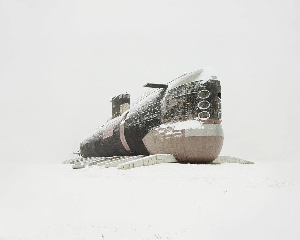 Jedna z největších ponorek poháněných dieselem na světě. (Samarská oblast, Rusko)