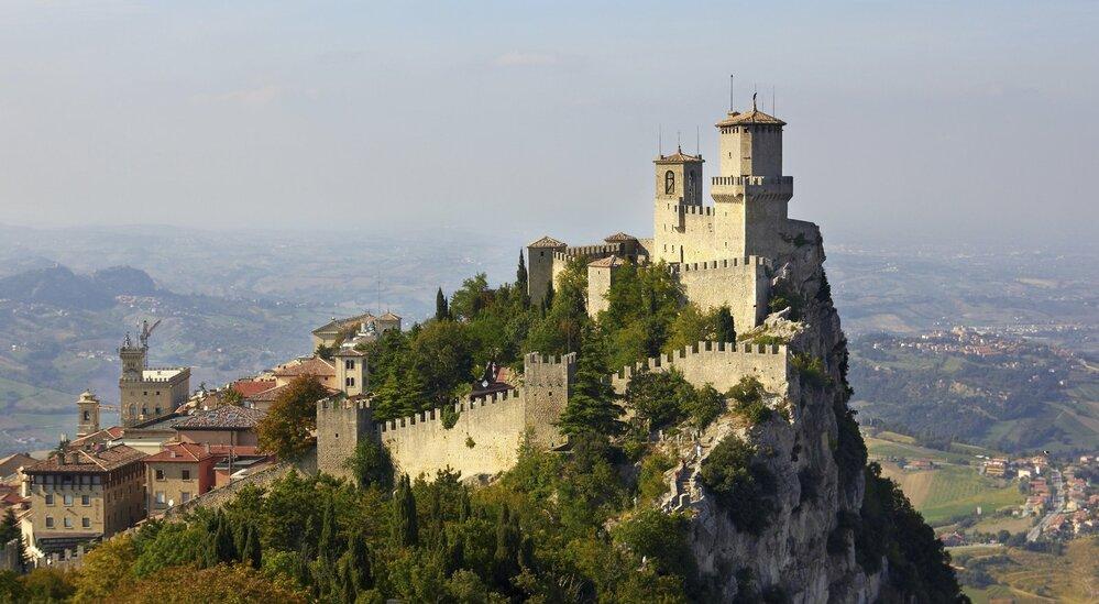 7. San Marino – 60 000 turistů