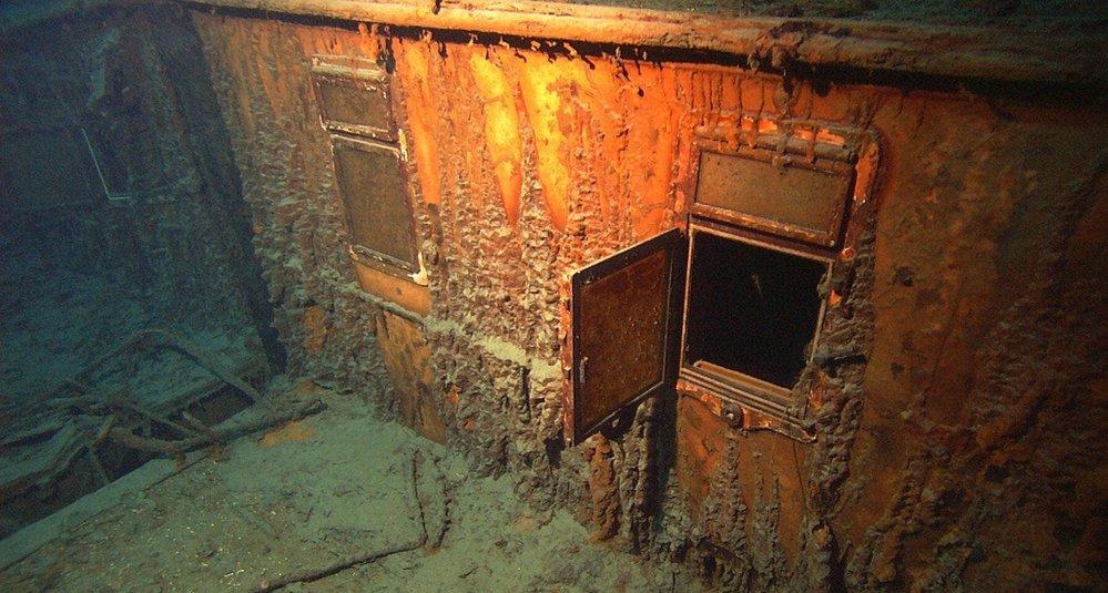 Vrak Titanicu na mořském dně
