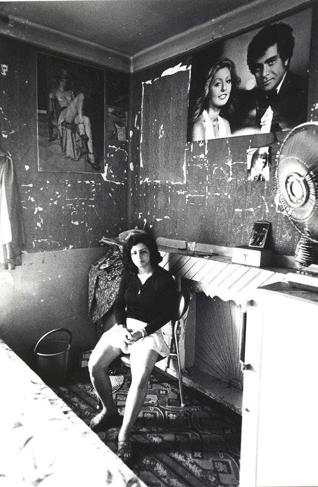 Íránské prostitutky ze 70. let v Teheránu.
