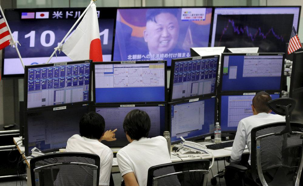 Ve všech japonských televizích se objevily varovné zprávy před posledním raketovým testem KLDR