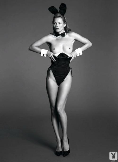 Pro Playboy se svlékla i Kate Moss.