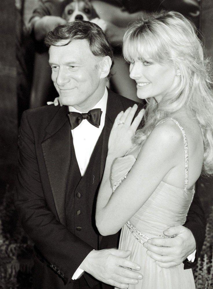 Hugh Hefner a Kimberley Konrad.