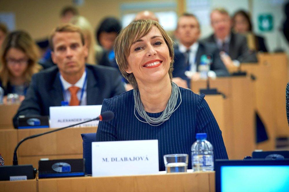 Česká europoslankyně Martina Dlabajová