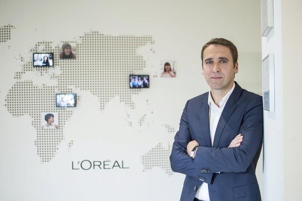 Tomáš Hruška, ředitel L'Oréal