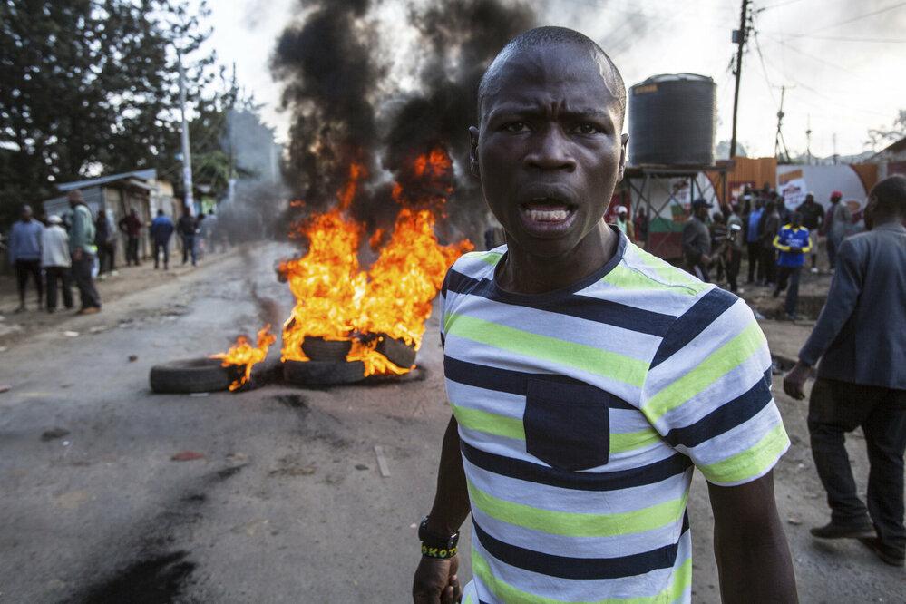 Prezidentské volby v Nairobi (Aktualita, série) • FOTO: Ján Husár
