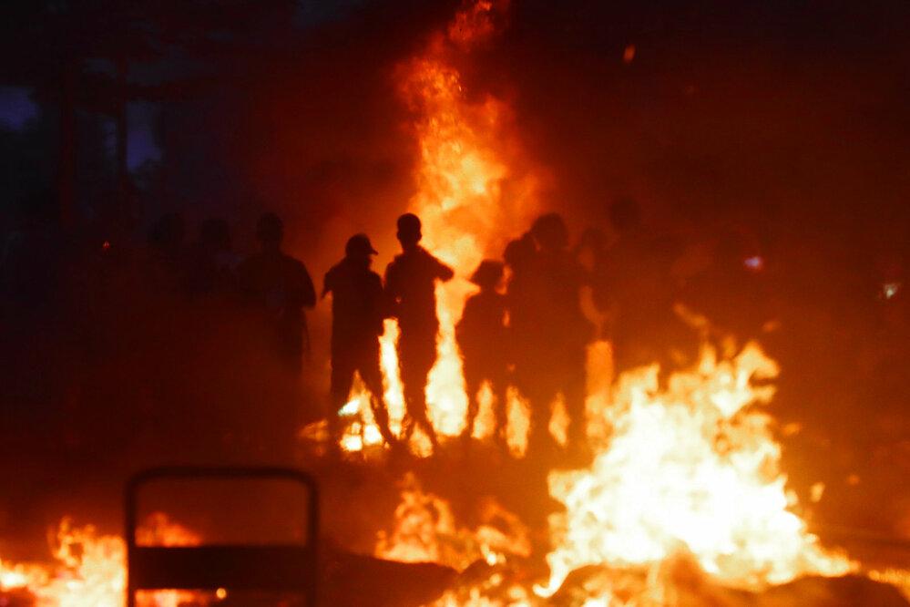 Nepokoje během zasedání G20 v Hamburku (Aktualita, série) • FOTO: Petr Topič, Mafra, a. s.
