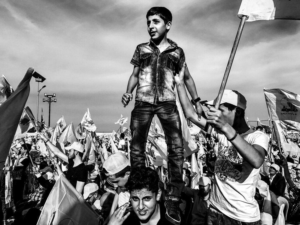 Hizballáh, oslavy vítězství nad Izraelem (Problémy dnešní doby, single) • FOTO: Martin Bandžák