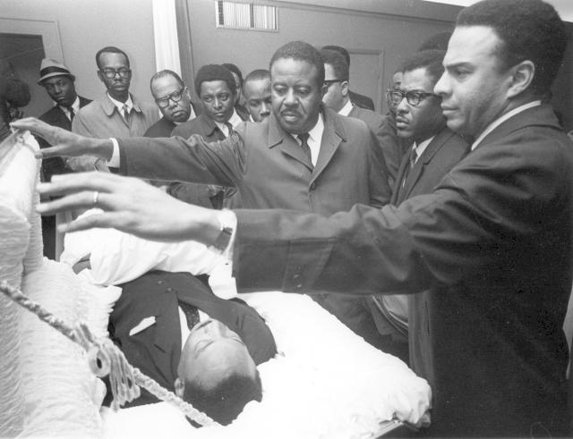 Kingův pohřeb