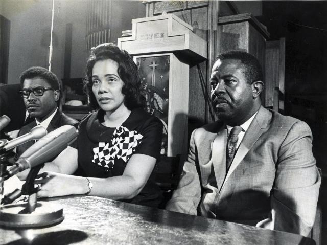 Kingova manželka Coretta Scott Kingová