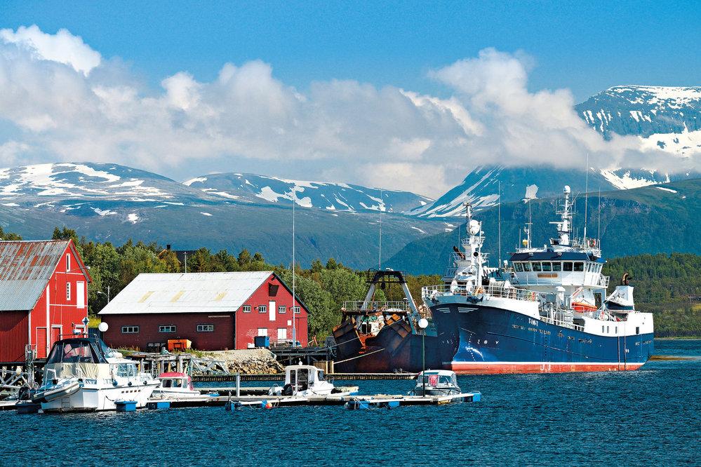 Krása amajestátnost, které jinde nenajdete (Selnes naostrově Kvaløya uTromsø)