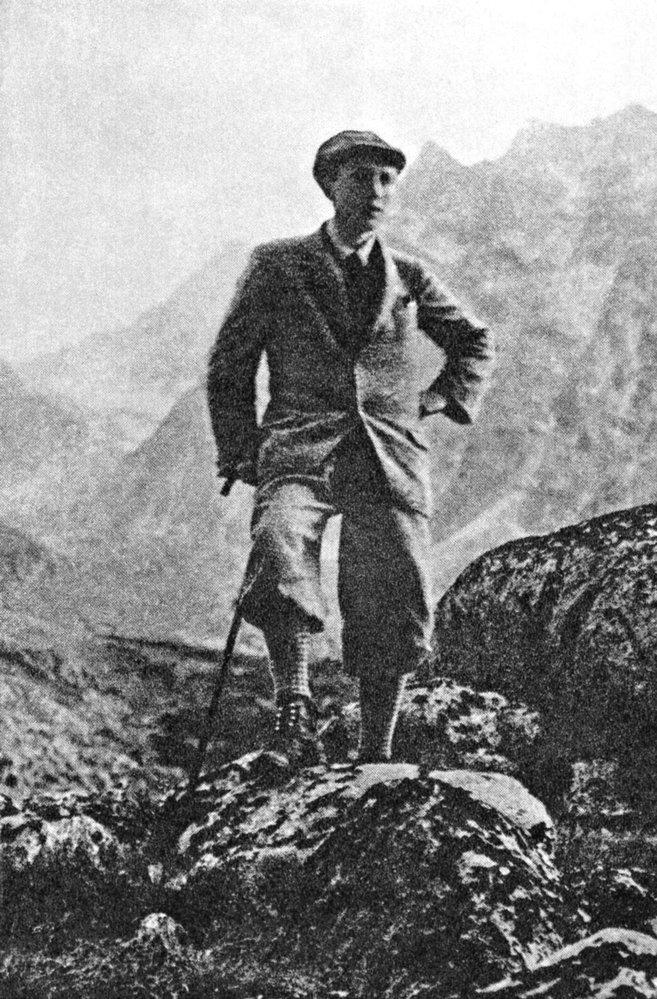 Spisovatel se vysokohorské turistice věnoval od svých prázdninových pobytů v Tatrách.