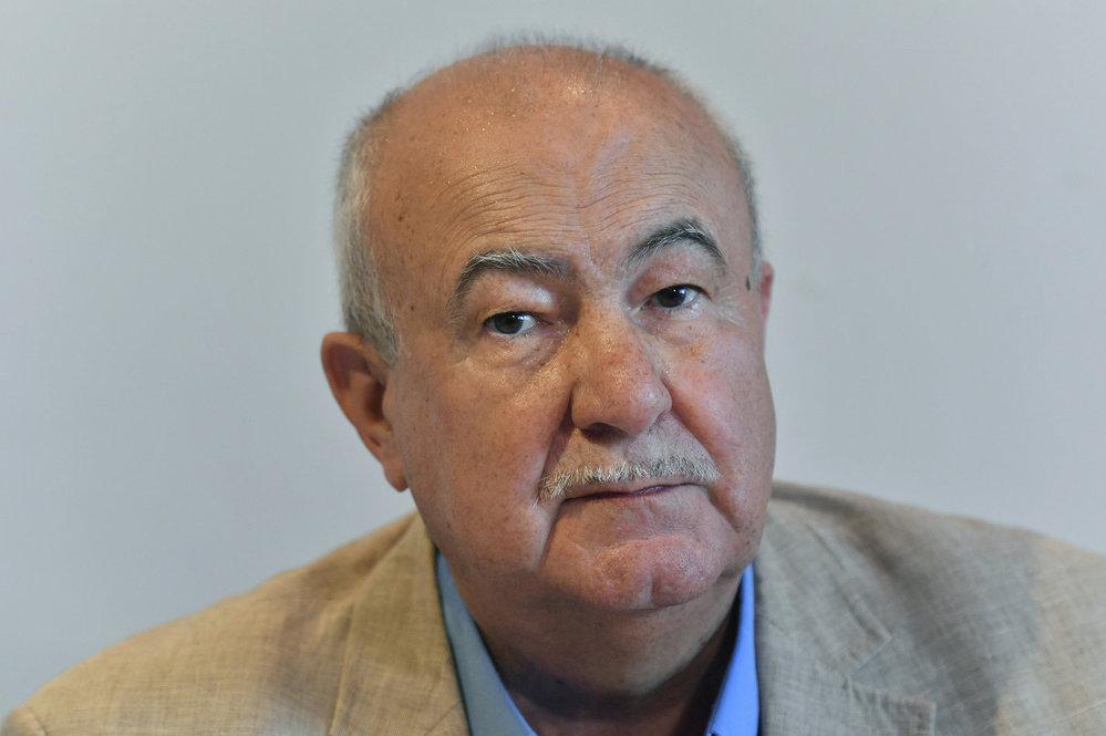 Petr Hannig. Skladatel, hudební producent, redaktor a prezidentský kandidát.