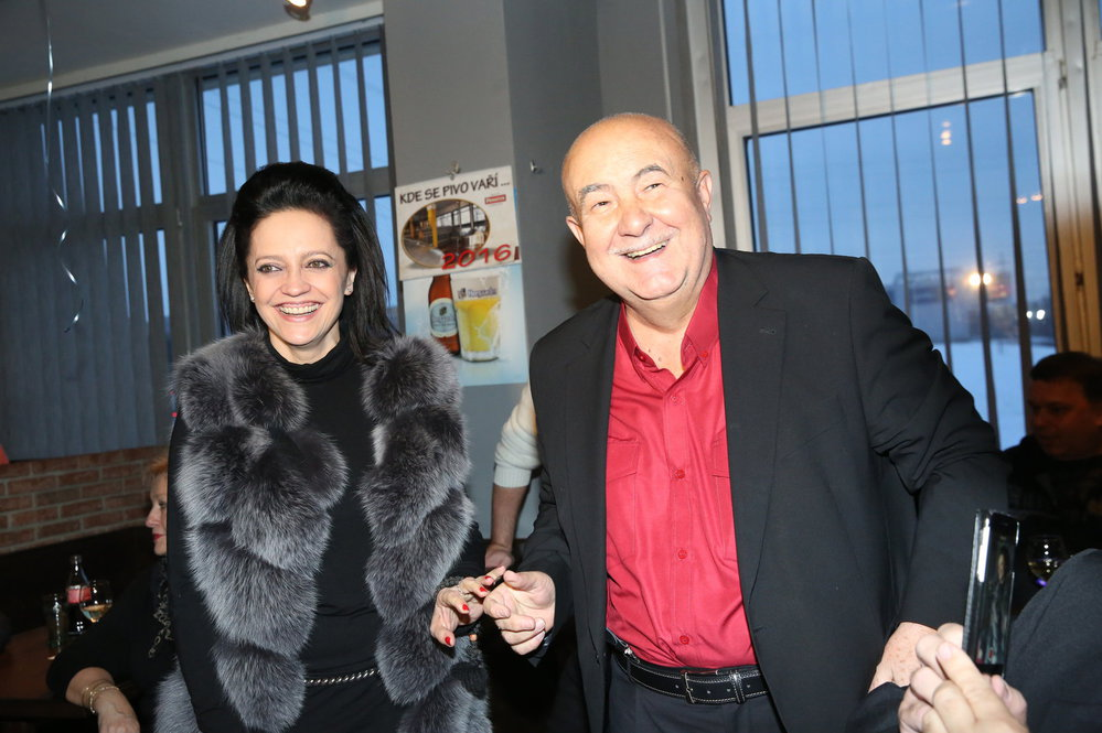 Petr Hannig s Lucií Bílou