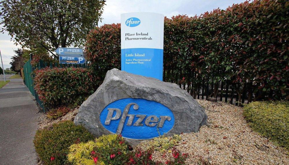 Výrobní továrna Pfizer pro lék viagra.
