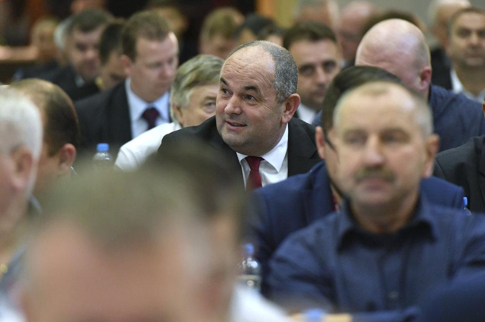 Miroslav Pelta mezi delegáty valné hromady