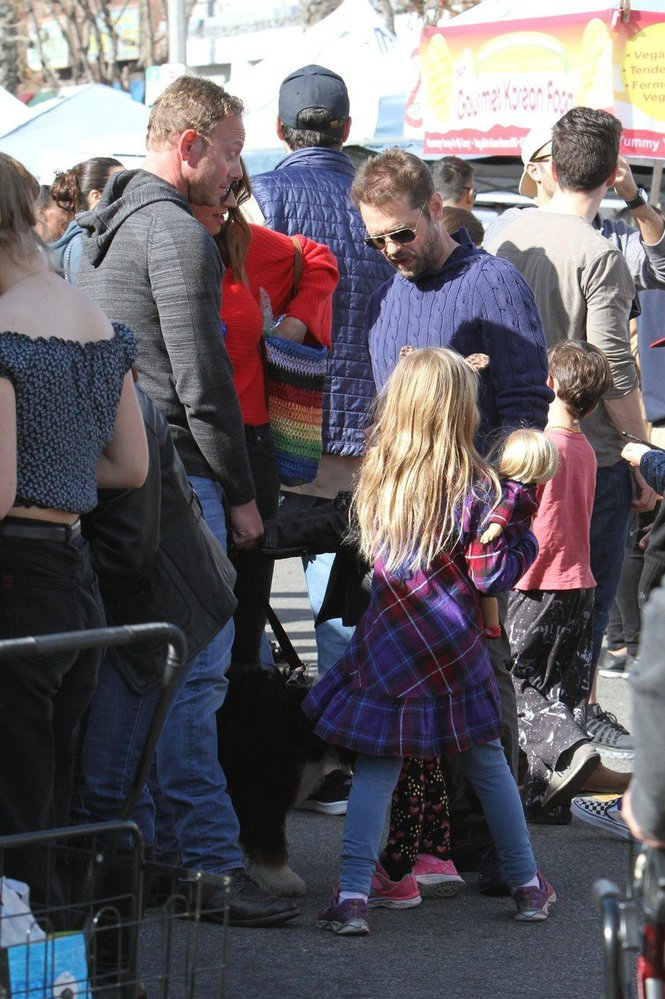 Ian Ziering a Jason Priestley alias Steve a Brendon z Beverly Hills 90210 se sešli na trhu