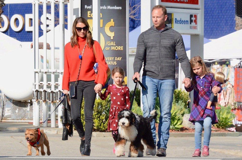 Ian Ziering alias Steve z Beverly Hills 90210 s rodinou