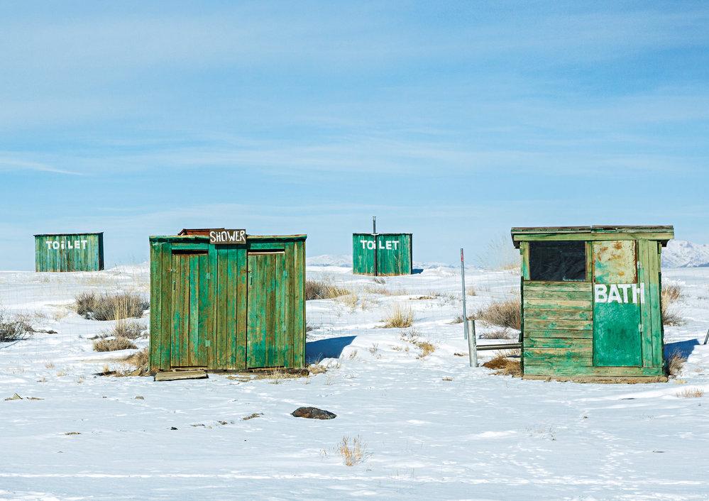 Odskočit si na toaletu v mongolské zimě je velké hrdinství