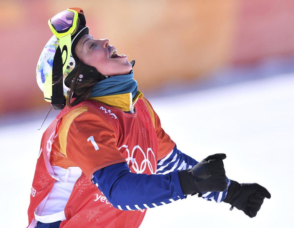 Eva Samková a její cílová radost