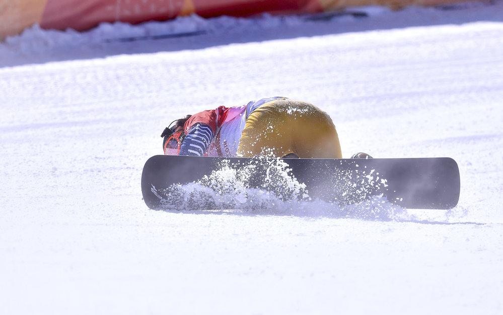 Eva Samková dojela do cíle a padla