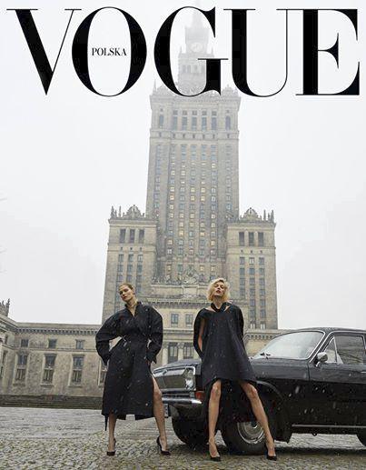 První číslo polské verze časopisu Vogue se stalo terčem mnoha vtipů.