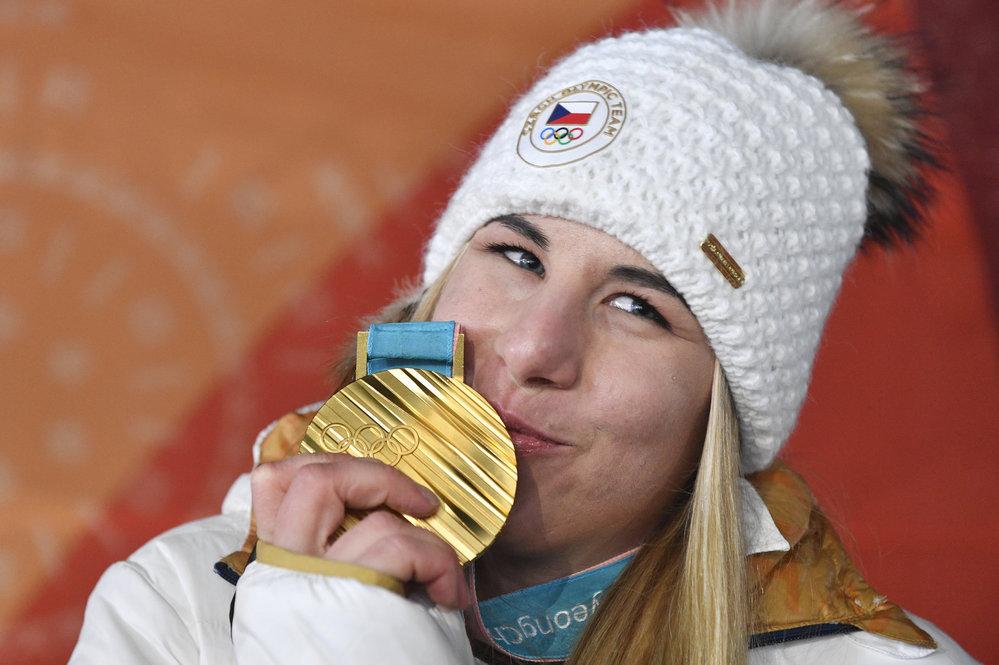 Ester Ledecká překvapila a získala zlato!