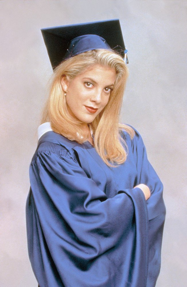 Tori Spelling jako Donna v seriálu Beverly Hills 90210