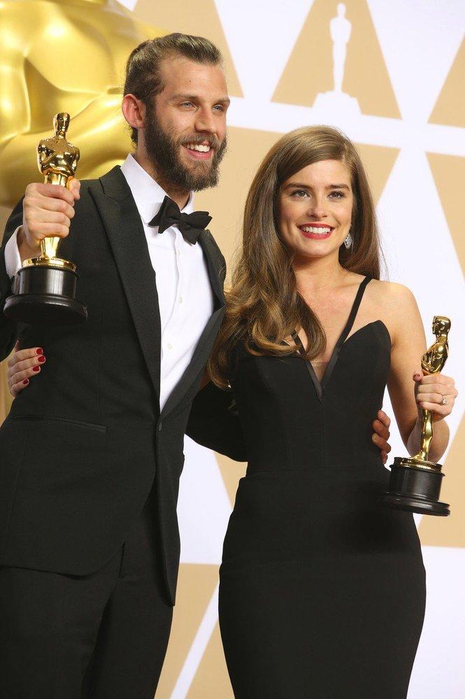 Chris Overton a Rachel Shenton za nejlepší krátkomentážní film.
