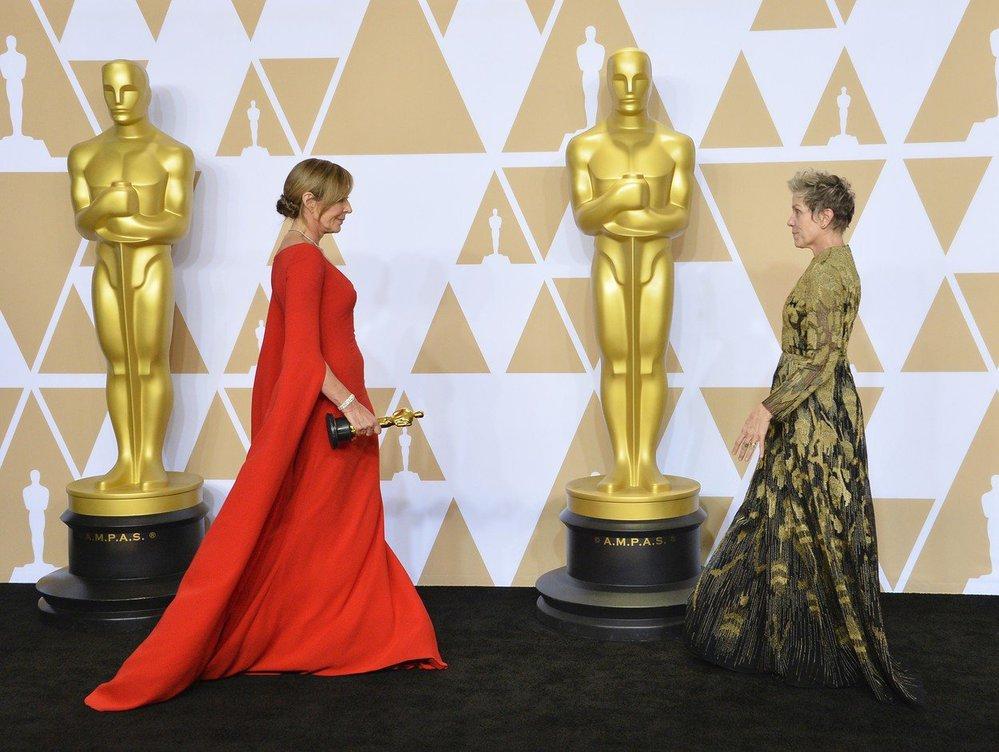Allison Janney a Frances McDormand, nové držitelky Oscara
