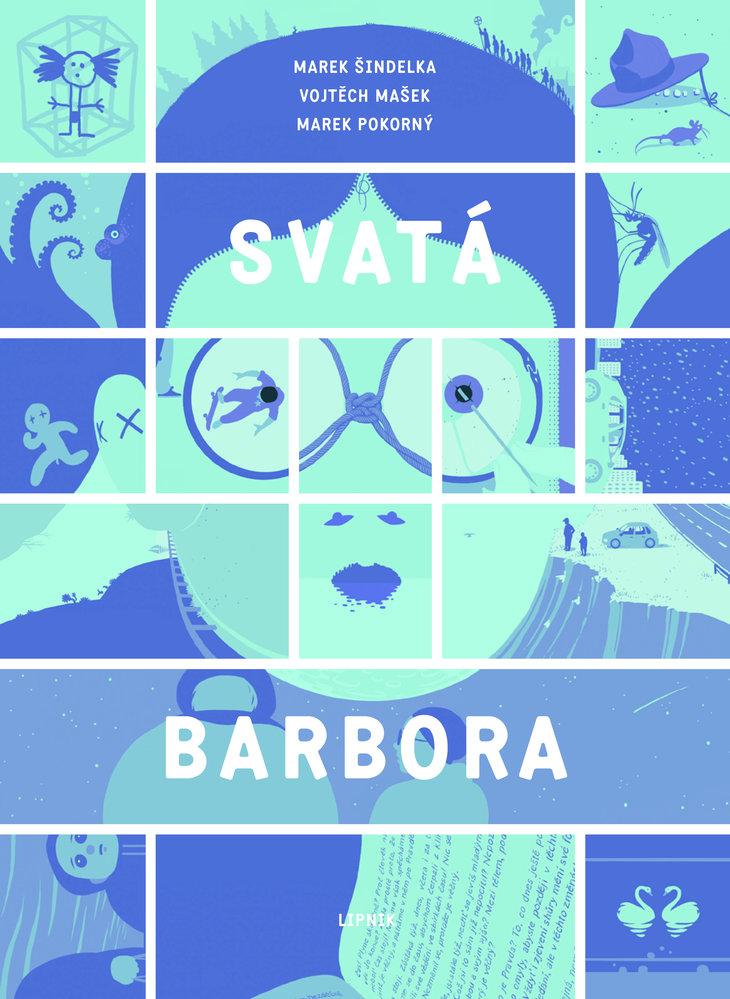 Obálka komiksu Svatá Barbora