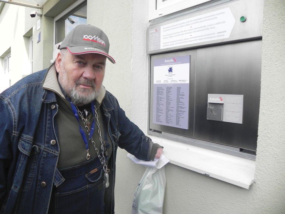 Ludvík Hess, iniciátor projektu babyboxů v Česku.
