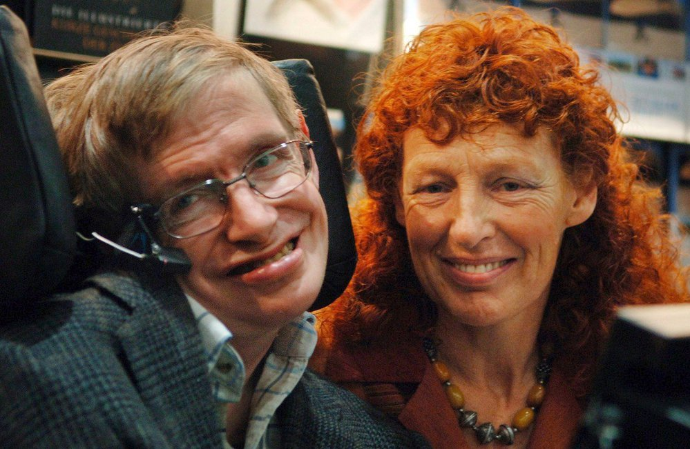 Hawking a jeho druhá žena Elaine