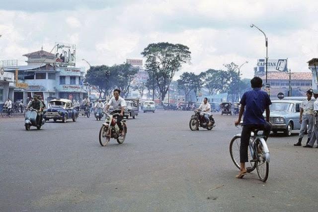 Běžný život v Saigonu během vietnamské války