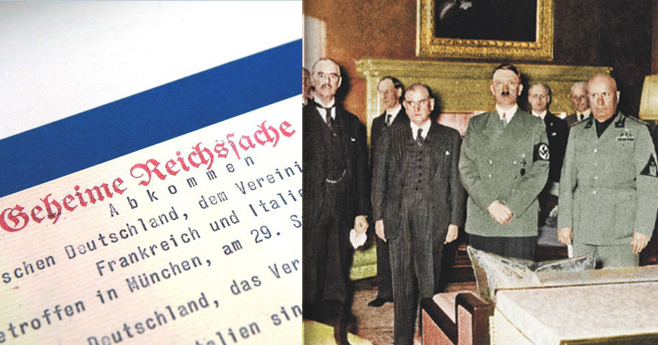 4 tváře mnichovské dohody.
