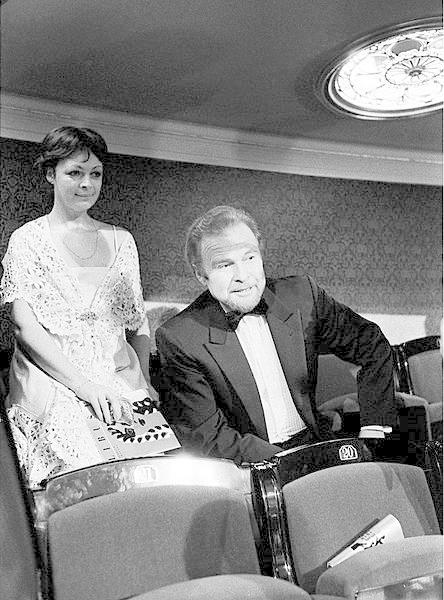 Jana Hlaváčová a Luděk Munzar v roce 1983
