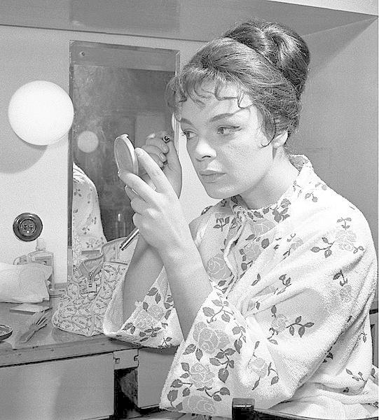 Jana Hlaváčová v roce 1965
