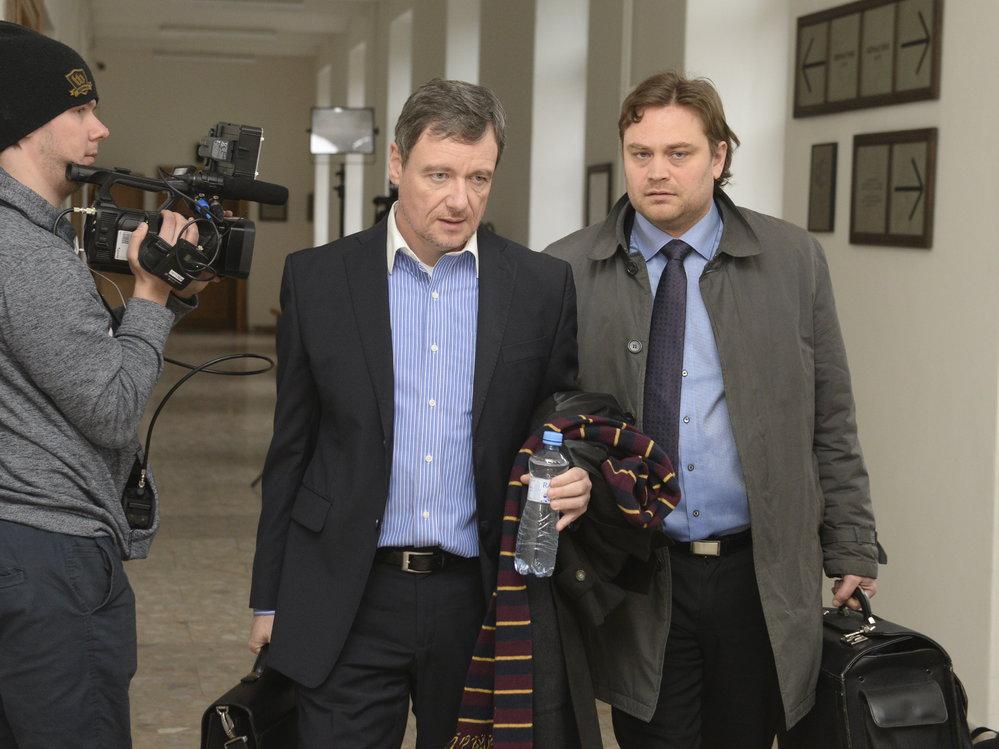 Bývalý středočeský hejtman David Rath pronesl u Krajského soudu v Praze svoji závěrečné řeči v případu korupční kauzy (rok 2018).