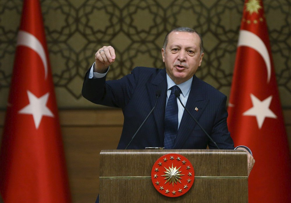 Turecký prezident Erdoğan