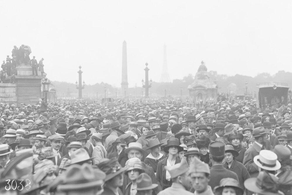 Francie těsně po skončení 1. světové války
