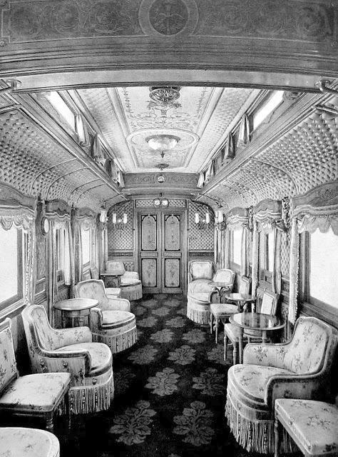 Luxusní pojízdný palác ruského cara Mikuláše II.