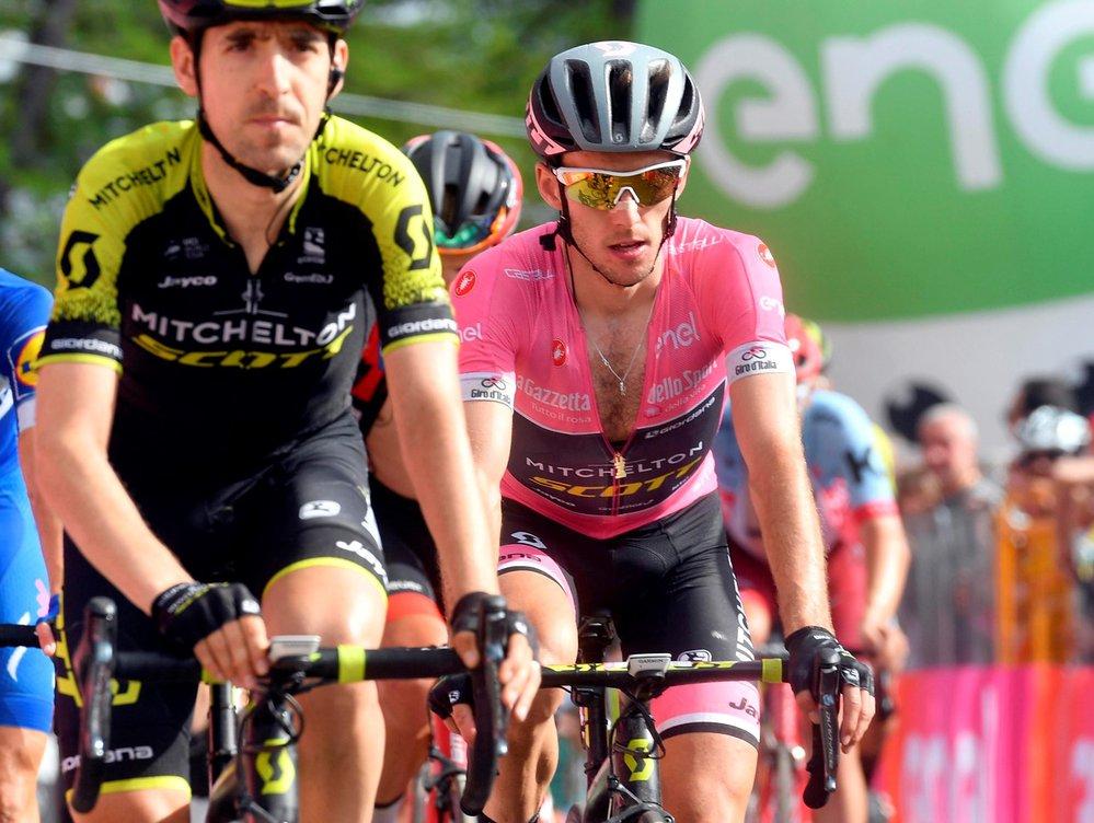Britský cyklista Chris Froome si v předposlední etapě Gira zajistil vítězství